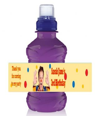 Mr Tumble Bottle Label Wrapper.